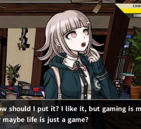 Maybe…life is just a game?
